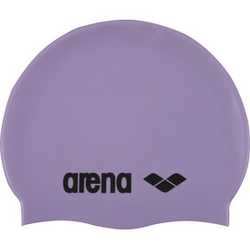 arena Classic Silicone Bathing Cap purple